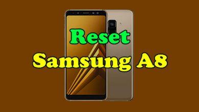 Reset Samsung Galaxy A8