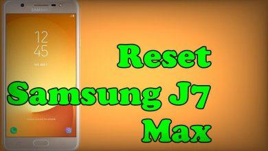 Reset Samsung Galaxy J7 Max