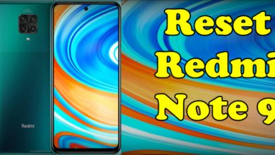 How To Reset Redmi Note 9 Pro
