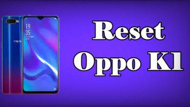 Reset Oppo K1