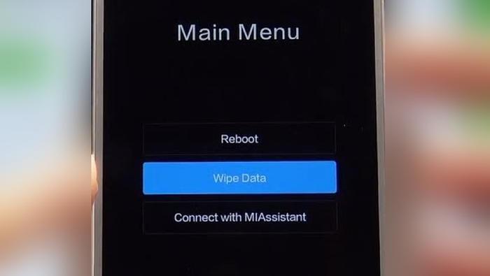 Wipe Data Xiaomi Redmi 9