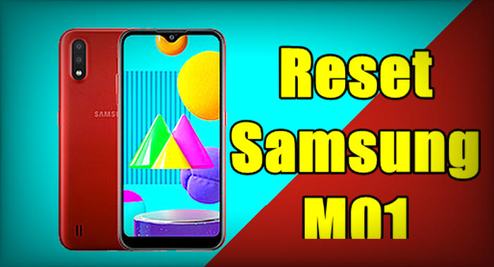 How To Reset Samsung Galaxy M01